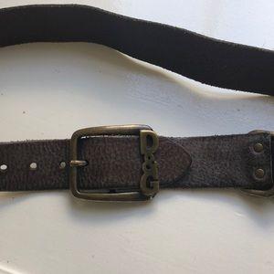 Brown DolceGabbana belt